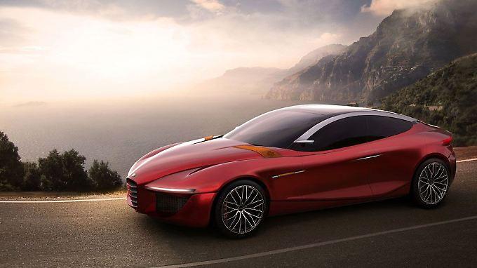 Die Designstudie Alfa Romeo Gloria ist die Arbeit von 20 internationalen Designstudenten.