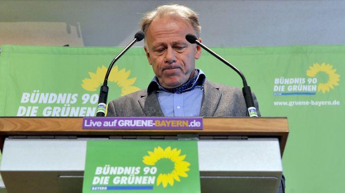 Jürgen Trittin muss hoffen, dass sich die Sozialdemokraten berappeln. Sonst bleiben die Grünen trotz großer Zustimmung eine Oppositionspartei.
