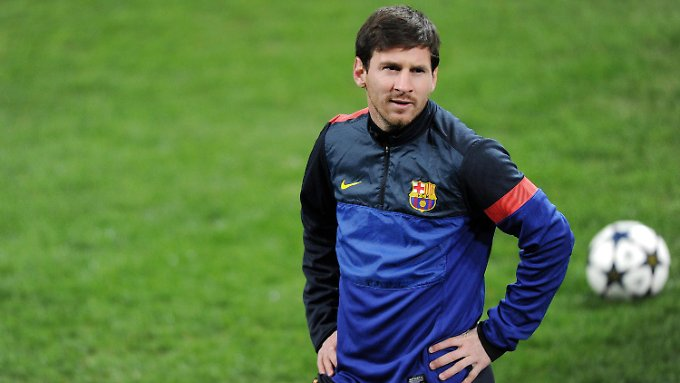 Manndeckung? Da lächelt Lionel Messi.