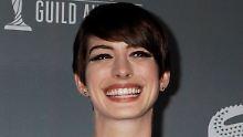 """""""Versuche, nicht panisch zu werden"""": Anne Hathaway ist arbeitslos"""