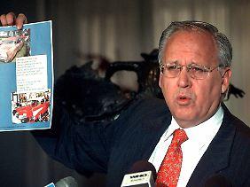 """Sein harter Verhandlungsstil hat Titan-Chef Maurice Taylor an der sonst nicht für Zimperlichkeiten berühmten Wall Street den Spitznamen """"Grizzly"""" eingebracht (Archivbild von 2009)."""