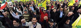Hisbollah wird aktiv: Syrien schießt Drohne ab