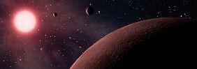 """""""Curiosity"""" bohrt erstmals Mars an: Roter Planet ist innen grau"""