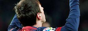 Wieder einmal der Match-Winner. Der Argentinier Lionel Messi.