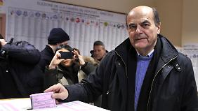 Der linke Politiker Perluigi Bersani könnte neuer Regierungschef werden.