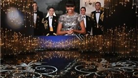 Das Photoshop-Kleid der First Lady.