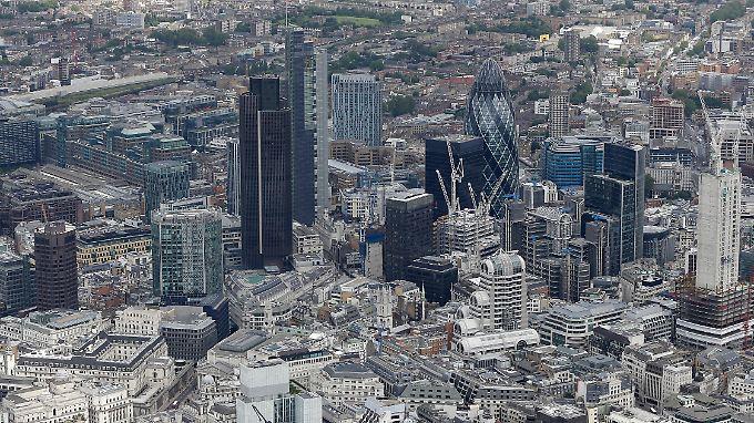 Ein Finanzzentrum mit globaler Bedeutung: Die City of London.