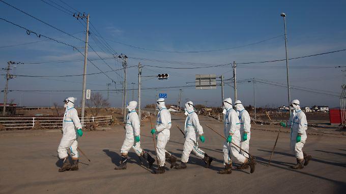 Zwei Jahre sind seit der Reaktorkatastrophe von Fukushima vergangen.