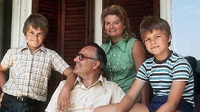 Die Kohl-Söhne wollen das Andenken an ihre Mutter bewahren, die, wie sie sagen, die Familie zusammenhielt.