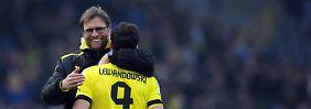 Erst begnadigt, dann gnadenlos gut: Dortmund feiert Lewandowski