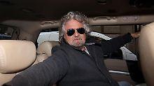 Beppe Grillo könnte von Neuwahlen profitieren.