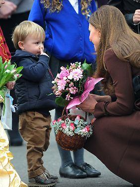 Wenn ihr Versprecher sich bestätigt, wird Kates Kind kein kleiner Prinz.