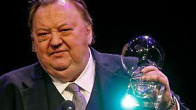 Dieter Pfaff bei der Verleihung des Steiger Awards 2008 in Bremen. Dies war nur eine von zahlreiche Auszeichnungen für den Schauspieler.
