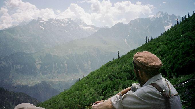 Ein Touristenführer im Swattal, einer malerischen Region im Norden Pakistans.
