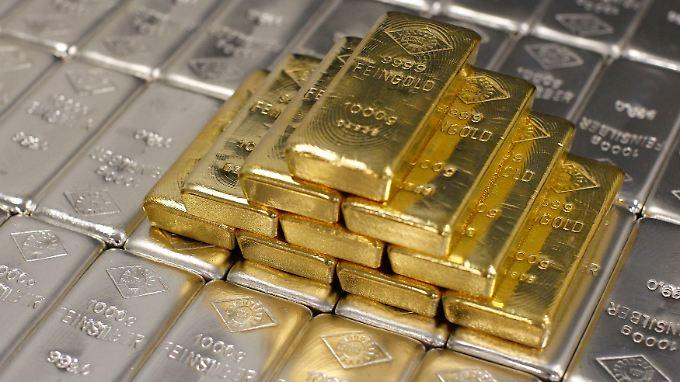 Gold wird billiger.