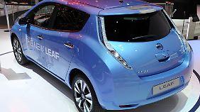 Der neue Nissan Leaf soll seinen erfolglosen Vorläufer ablösen.