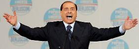 Vom Hausierer zum Präsidenten: Berlusconis umtriebige Karriere