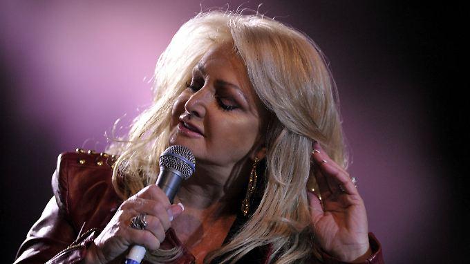 Soll es mit 61 für Großbritannien richten: Bonnie Tyler.