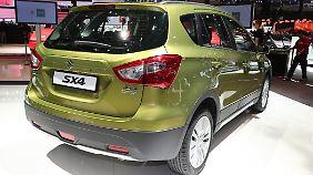 Mit 430 Liter Kofferraumvolumen hat der SX4 250 Liter mehr als sein Vorgänger.