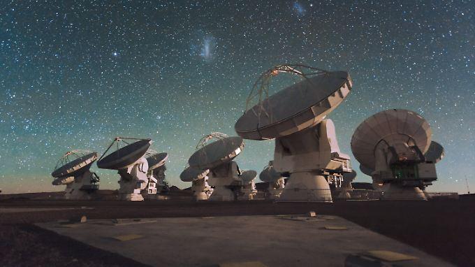 """Alma"" besteht aus 66 Teleskopen."