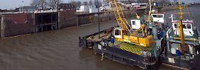 Schaden in Millionenhöhe: Nord-Ostsee-Kanal ist dicht