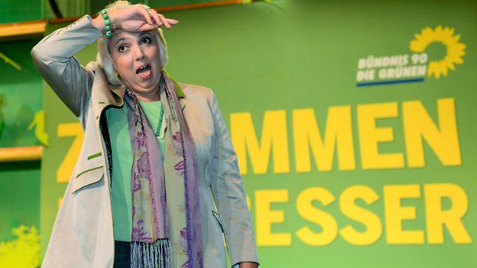 Claudia Roth nach ihrer Wiederwahl als Grünen-Chefin im November 2012.