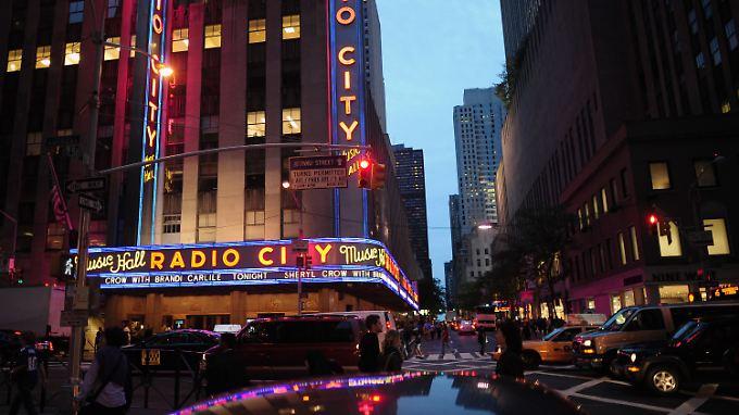 """Die """"Radio City Music Hall"""" in New York ist für die große Präsentation bereits angemietet."""