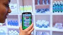 Smartphone verrät Konsum: GfK will Daten sammeln