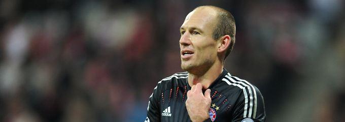 """Arjen Robben hat also auch """"Dreck"""" gespielt."""