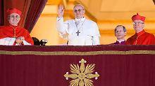 Der erste große Auftritt für den Neuen im Vatikan.