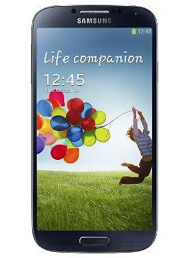 Gewohntes Design: das Galaxy S4.