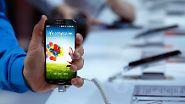 Als Verkaufsstart für das Galaxy S4 peilt Samsung Ende April an.