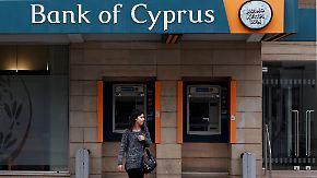 EU rettet Zypern mit zehn Mrd. Euro: Bankkunden müssen sich beteiligen