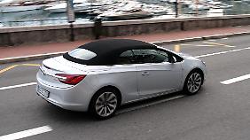 Bei der Größe geht der Cascada eindeutig in Richtung Audi A5.