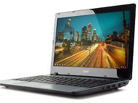 """""""Sie sehen aus wie ein Laptop"""": Ein Acer C7."""