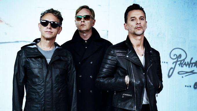 Depeche Mode, aufgenommen von ihrem langjährigen Wegbegleiter Anton Corbijn.