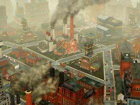 Viel Industrie bedeutet viel Luftverschmutzung - ein Problem, das gelöst werden muss.