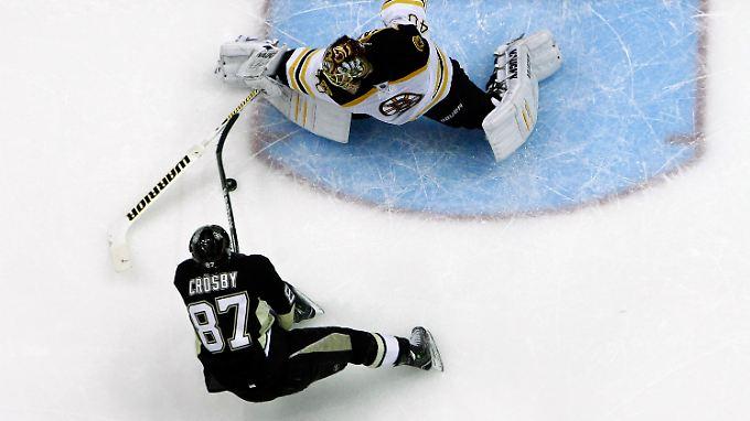 Sidney Crosby ist mit deutlichem Abstand Topscorer der NHL.