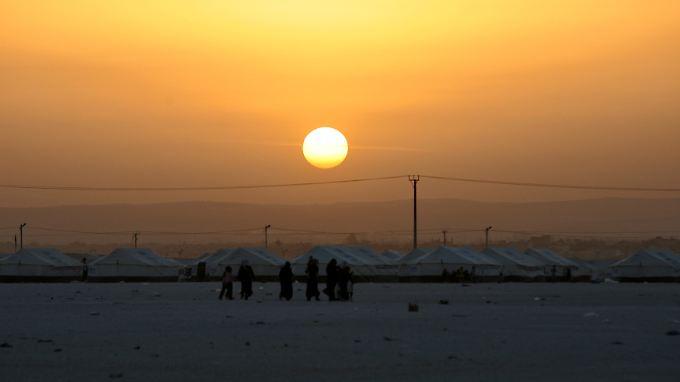 Flüchtlingscamp in Jordanien