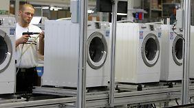 Bei Waschmaschinen ist die Schwachstelle oft die Schmelzsicherung der Heizstäbe.