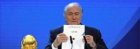 Fifa dementiert Medienberichte: Blatter soll WM in Katar angezweifelt haben