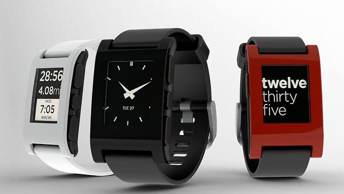 Die Smartwatch Pebble setzt auf ein offenes System.