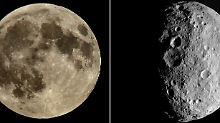"""Gleiche """"Bombardement-Geschichte"""": Mond und Vesta im Steinhagel"""