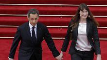 Wird Sarkozy nur diffamiert?: Carla Bruni ist wütend