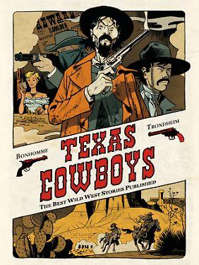 """""""Texas Cowboys"""" ist bei Salleck Publications erschienen. Das Hardcover mit 152 Seiten kostet 20 Euro (D)."""