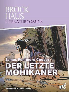 """""""Der letzte Mohikaner"""" ist bei Brockhaus erschienen. Das Hardcover mit 58 Seiten kostet 12,95 Euro (D)."""