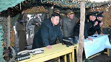 Sind die Drohungen Bluff oder Ernst?: Kim Jong Un ist kaum berechenbar