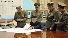 """""""Durch Gesetz festgeschrieben"""": Kim setzt auf Atomwaffen"""