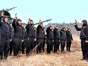 In einem offenen Krieg hätten Nordkoreas Truppen trotz ihrer Kraftdemonstrationen gegen den Nachbarn im Süden keine Chance.