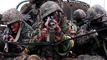 Furcht vor Nordkorea: Raketenabschuss soll bevorstehen